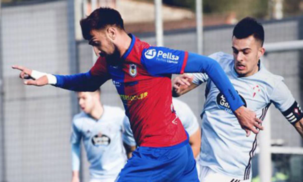 Un gol de David Álvarez da la primera victoria al Langreo