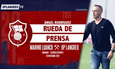 🎦 Ángel Rodríguez   🎙️ Rueda de Prensa   🚌 Marino de Luanco – UP Langreo