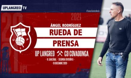 🎦 Ángel Rodríguez | 🎙️ Rueda de Prensa | 🏡 UP Langreo – CD Covadonga