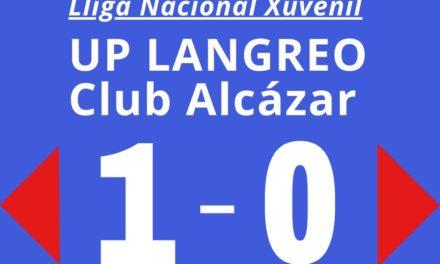 UP Langreo 1 – 0 Alcázar