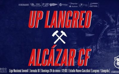 El Juvenil A del UP Langreo recibe al Alcázar en un derbi langreano marcado por las urgencias