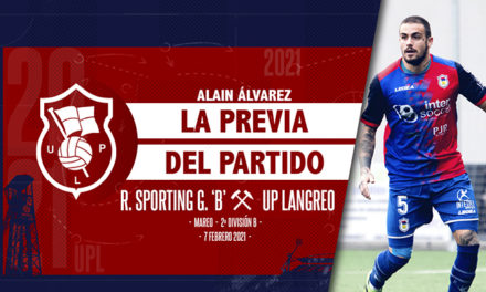 Alain Álvarez | UPLFLASH | R. Sporting Gijón 'B' – UP. Langreo