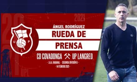Ángel Rodríguez | Rueda de Prensa | CD Covadonga – UP Langreo