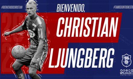 ¡Bienvenido, Christian Ljungberg!