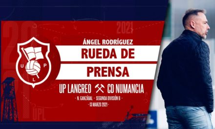Ángel Rodríguez | Rueda de Prensa | UP Langreo – CD Numancia